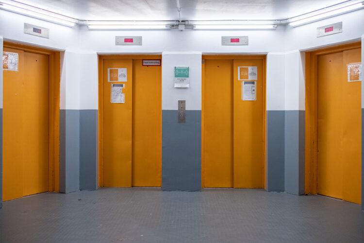 Renovierung der Fahrstuhlvorräume